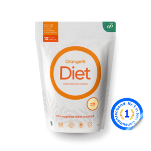 Orangefit Diet Vanille met Zoetstoffen uit Stevia - 850g
