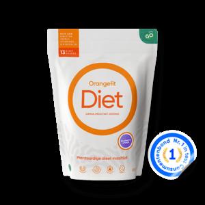 Orangefit Diet Blueberry met Zoetstoffen uit Stevia - 850g