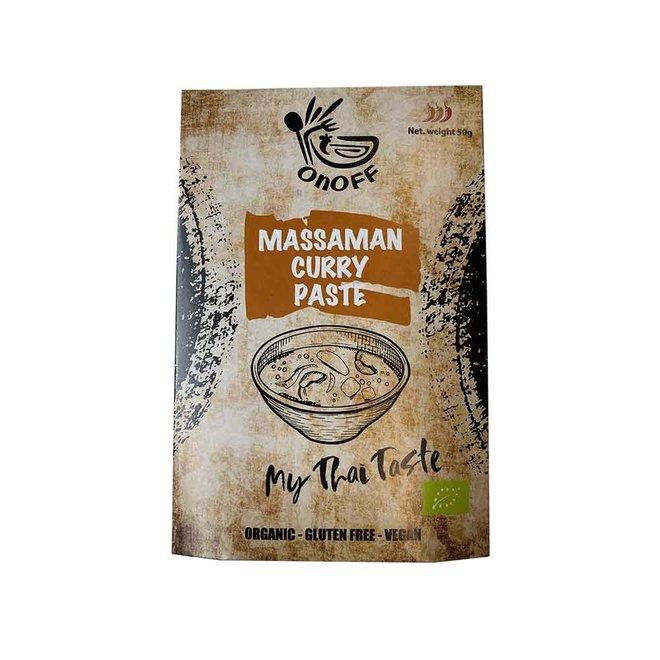 Thaise Massaman-Currypasta - 50g - BIO