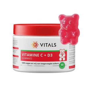 Vitals Vitamine C + D3 - 60 gummies