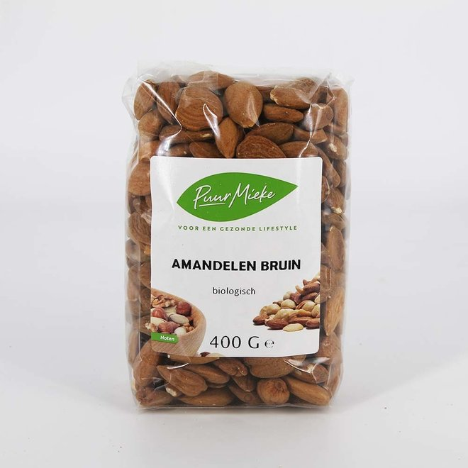 Bruine amandelen - 400g - BIO