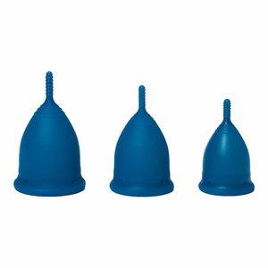 DivineCup Menstruatiecup Sailor Blue - Soft