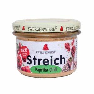 Zwergenwiese Paprika-Chili Spread - 180g - BIO