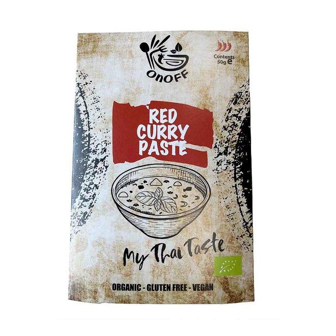 Thaise Rode Currypasta - 50g - BIO