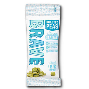 Brave Roasted Peas - Sea Salt - 35g