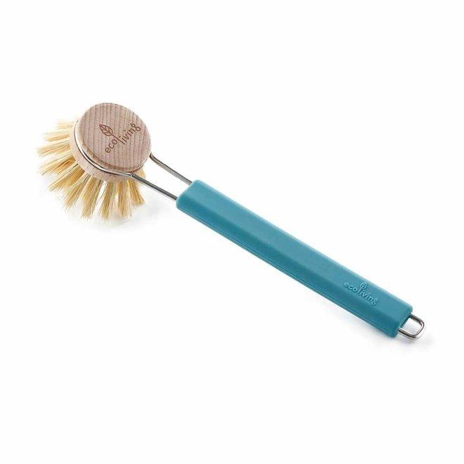 Afwasborstel met Vervangbare Kop - Blauw