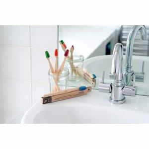 ecoLiving Tandenborstel voor Volwassenen - Rood