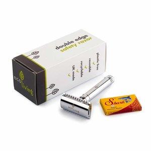 ecoLiving Vervangbare Scheermesjes - 5 pack