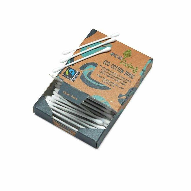 Wattenstaafjes - Biologisch en Fairtrade - 100st