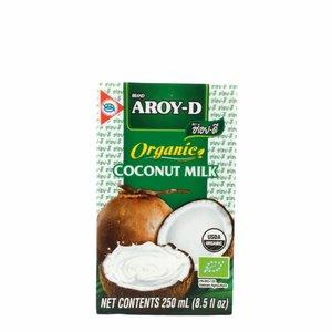 Aroy-D Kokosmelk 19% Vet - 250ml - BIO