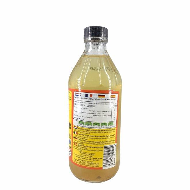 Appelazijn, Appelciderazijn - 473ml - BIO
