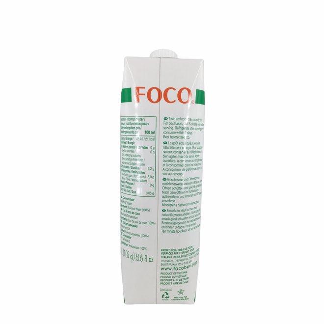 Kokoswater Naturel 100% Puur - 1L