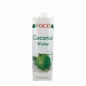 Foco Kokoswater Naturel 100% Puur - 1L