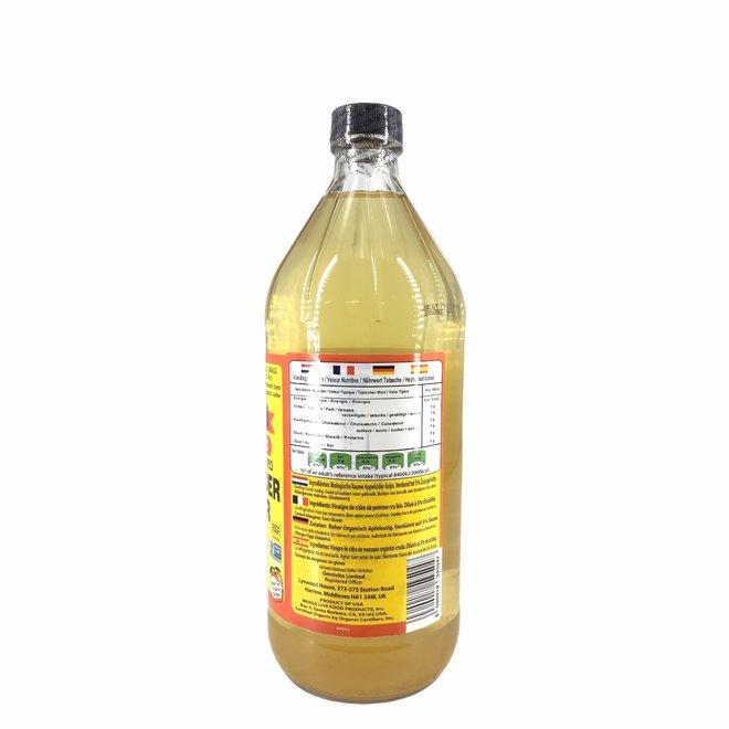 Appelazijn, Appelciderazijn - 946ml - BIO