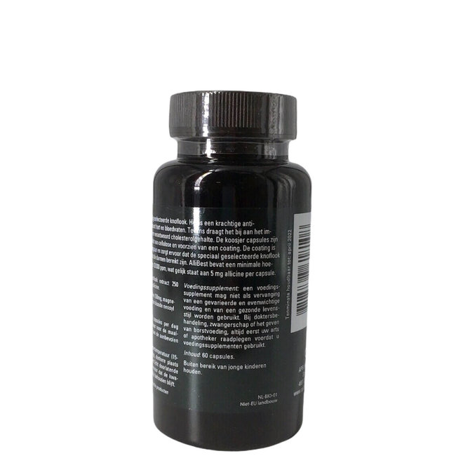 Knoflookcapsules Allicine 60 caps. 250mg