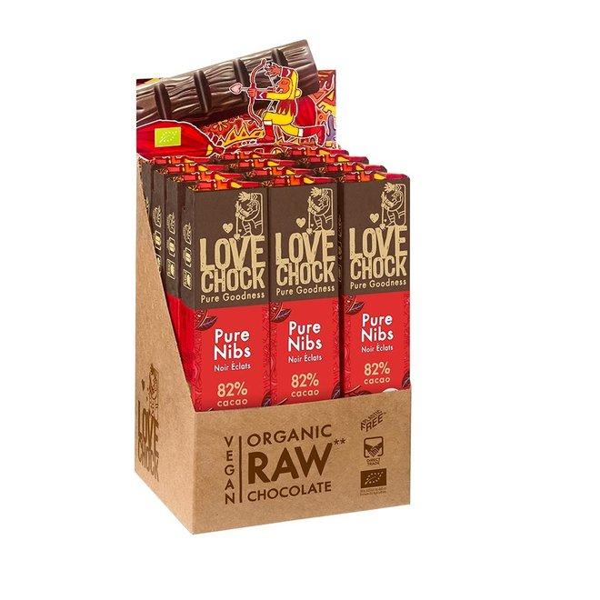 Puur Nibs 82% cacao - 40g - BIO