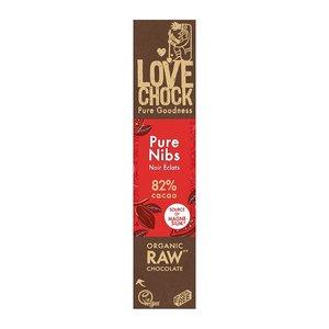 Lovechock Puur Nibs 82% cacao - 40g - BIO