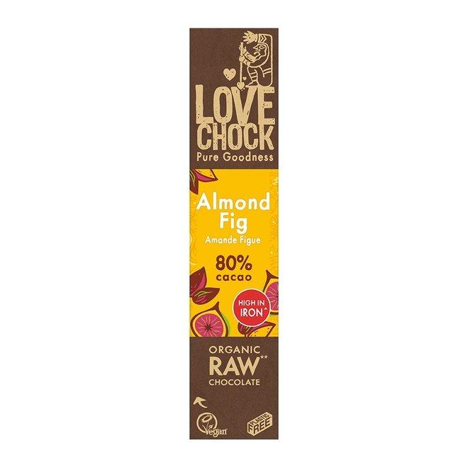 Amandel / Vijg 81% cacao - 40g - BIO