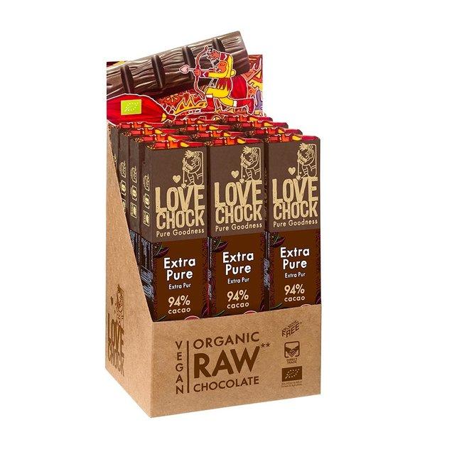 Extra Puur 94% cacao - 40g - BIO