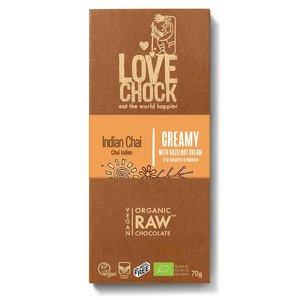 Lovechock Indian Chai Creamy - 70g - BIO - THT - 27-11-2021