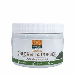 Mattisson Chlorella Poeder - Chlorella sorokiniana - 125g