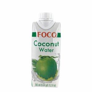 Foco Kokoswater 100% Puur Naturel - 330ml