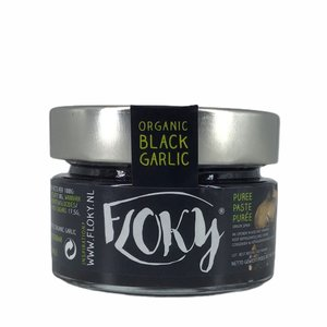Floky Zwarte Knoflook Puree / Pasta - 100g - BIO