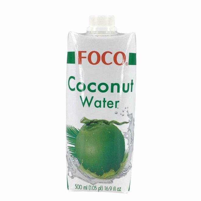 Kokoswater Naturel 100% Puur - 500ml