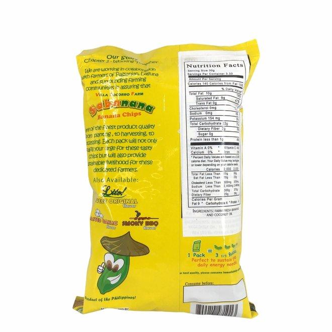 Bananenchips Puur Naturel - 100g