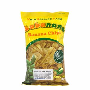 Sabanana Bananenchips Puur Naturel - 100g
