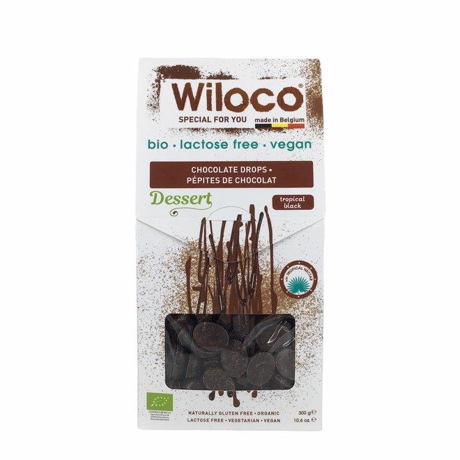 Chocolade Druppels Puur Lactosevrij - 300g - BIO