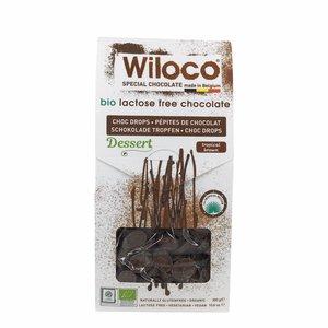 "Wiloco Chocolade Druppels ""Melk"" Lactosevrij - 300g - BIO"