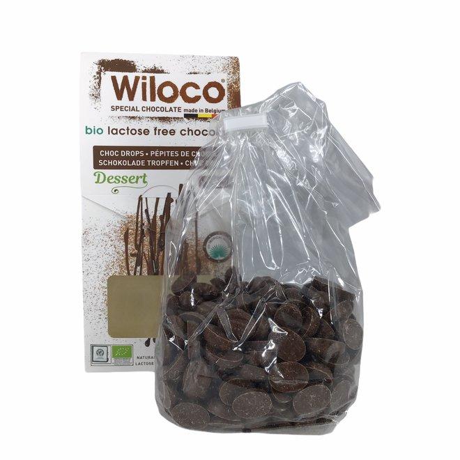 """Chocolade Druppels """"Melk"""" Lactosevrij - 300g - BIO"""