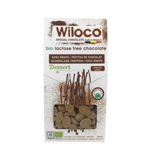 "Wiloco Chocolade Druppels ""Wit"" Lactosevrij - 300g - BIO"