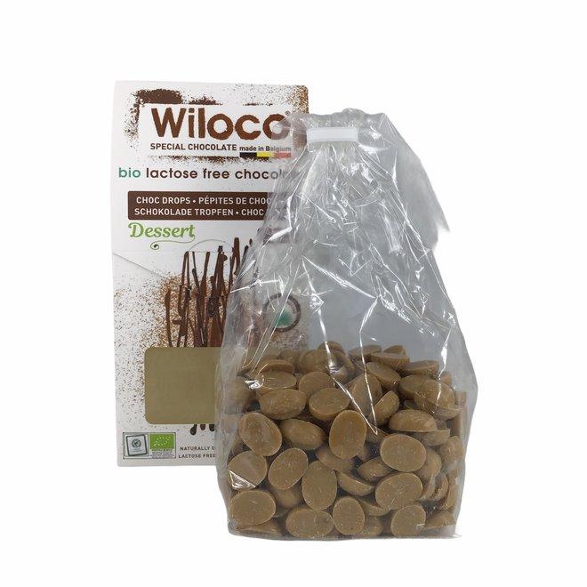 "Chocolade Druppels ""Wit"" Lactosevrij - 300g - BIO"