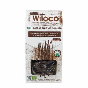Wiloco Chocoladeflikken Melk en Puur Mix - 150g - BIO