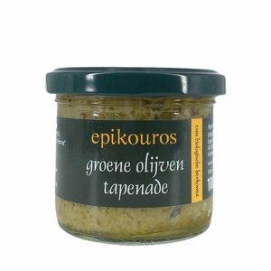 Epikouros Groene olijven tapenade 100g - BIO