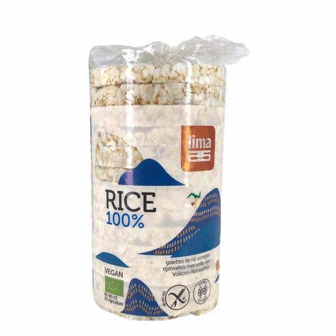 Rijstwafel met zout-BIO