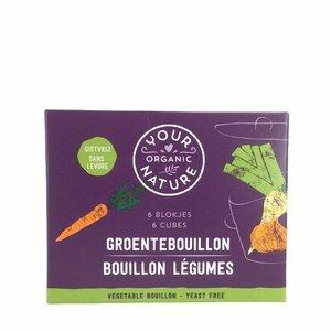 Your Organic Nature Heldere groentebouillonblokjes zonder gist - BIO