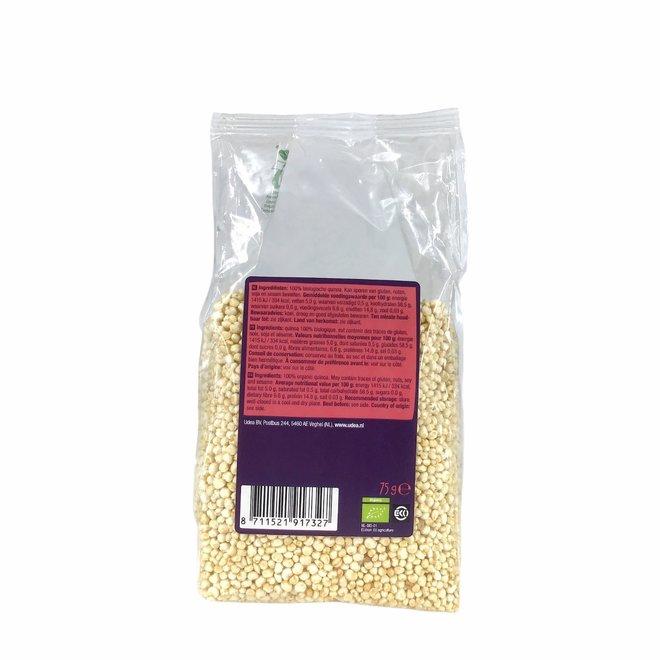 Gepofte quinoa 75g - BIO