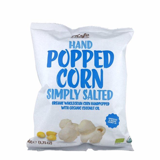 Popcorn licht gezouten 50g - BIO