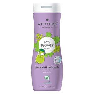 ATTITUDE 2-in-1 Kinder Shampoo en Bodywash - Vanille & Peer - 473ml