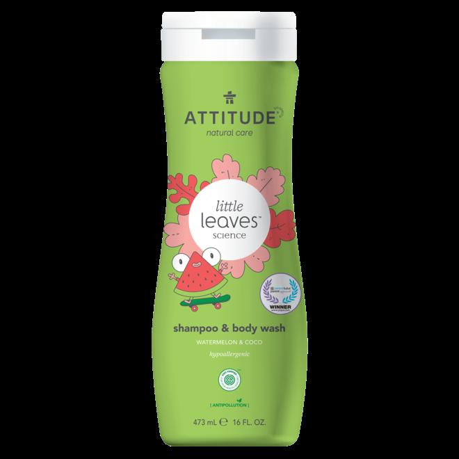 2-in-1 Kinder Shampoo en Bodywash - Watermeloen & Kokos - 473ml