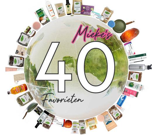 Mieke's 40 Favorieten