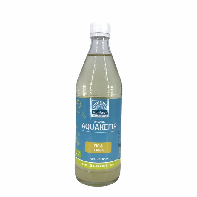Aquakefir Vijg & Citroen - 500ml - BIO