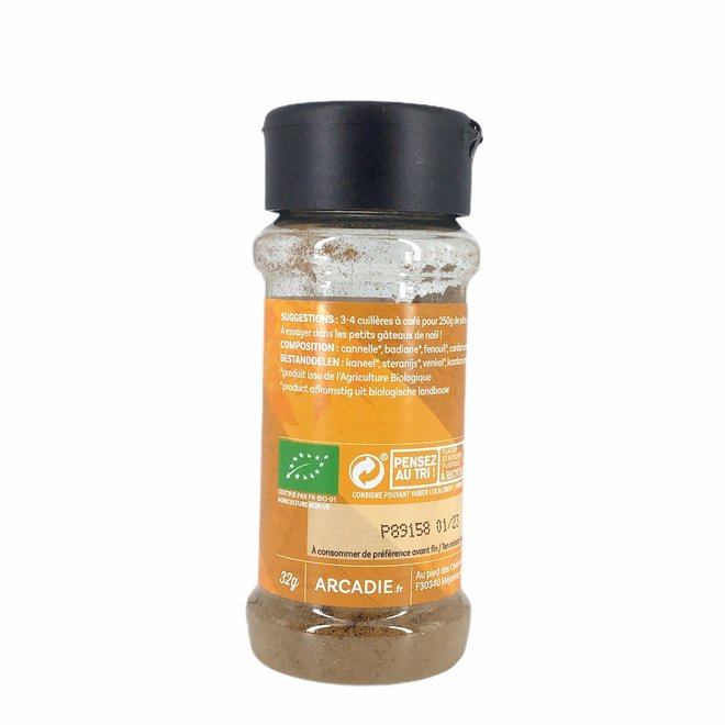 Peperkoekkruiden - BIO