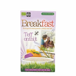 Joannusmolen Breakfast Teff Ontbijt - 300g - BIO