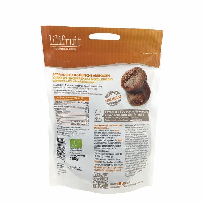 Gewelde abrikozen 150gr