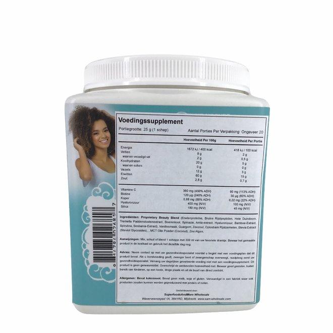 Collagen Building Protein Peptides - Tahitian Vanilla - 500gr - BIO
