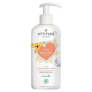 ATTITUDE 2-in-1 Baby Shampoo en Bodywash - Perennectar - 473ml